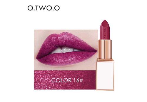 Ultra-Rich Lip Color - Semi Velvet Liquid Lipstick  - Waterproof - Color 16
