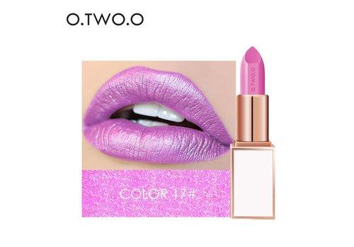 Ultra-Rich Lip Color - Semi Velvet Liquid Lipstick  - Waterproof - Color 17