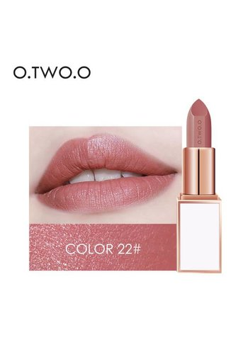 Ultra-Rich Lip Color - Semi Velvet Liquid Lipstick  - Waterproof - Color 22