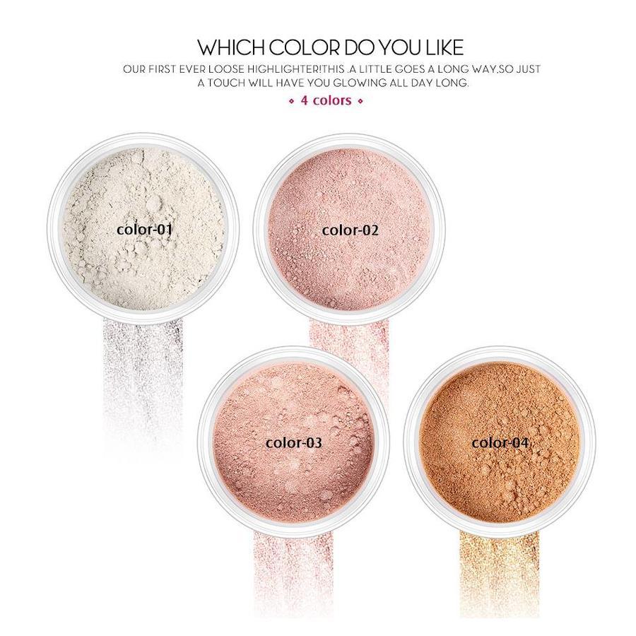 Loose Highlighter - Poeder met Glitter - Color 04-8