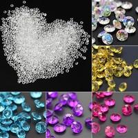 thumb-Decoratie Steentjes - Diamantjes - Licht Blauw - 1000 stuks-5