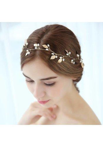 Elegant Goudkleurig Haar Sieraad