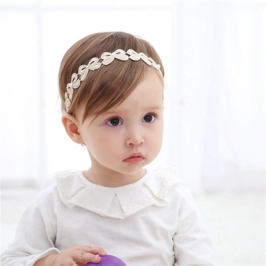 Haar Sieraad / Haarband Strik met Fonkelende Kristallen en Ivoorkleurige Parels-4
