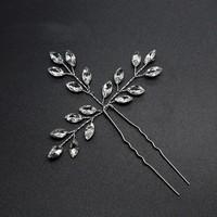 thumb-PaCaZa - Hairpins met Diamanten - 2 Stuks-3