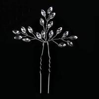 thumb-Hairpins met Diamanten - 2 Stuks-2