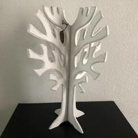 thumb-Houten 3D Boom 40x30cm - Kleur Antique White-2