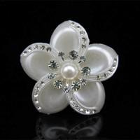 thumb-PaCaZa - Grote Ivoorkleurige Curlies met Fonkelende Kristallen - 4 stuks-2