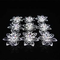 thumb-Big Flower Curlies met Kristallen - 6 stuks-5
