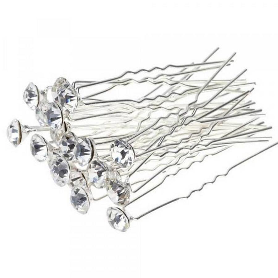 Hairpin - Strass Diamant Groot - 5 stuks-3