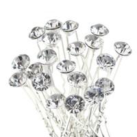 thumb-Hairpin - Strass Diamant Groot - 5 stuks-1