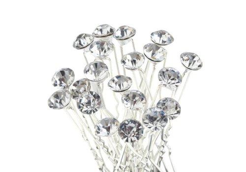 Hairpin - Strass Diamant Groot - 5 stuks