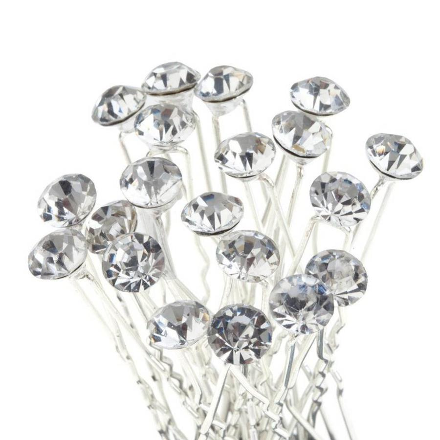 Hairpin - Strass Diamant Groot - 5 stuks-1