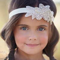 thumb-Haar Sieraad / Haarband met Fonkelende Kristallen-1