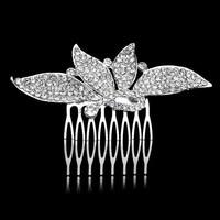 PaCaZa - Fonkelende Moderne Haarkam bezet met Kristallen