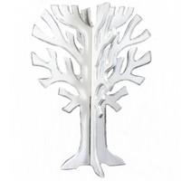 thumb-Houten 3D Boom 40x30cm - Kleur Antique White-1