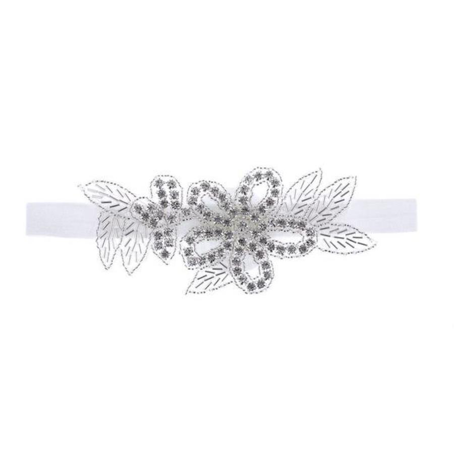 Haar Sieraad / Haarband met Fonkelende Kristallen-6