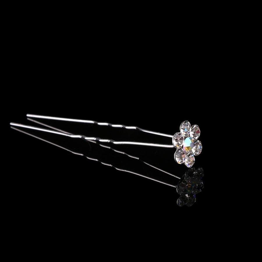 PaCaZa - Hairpins - Bloemetje met prachtige kleuren - 5 stuks-2