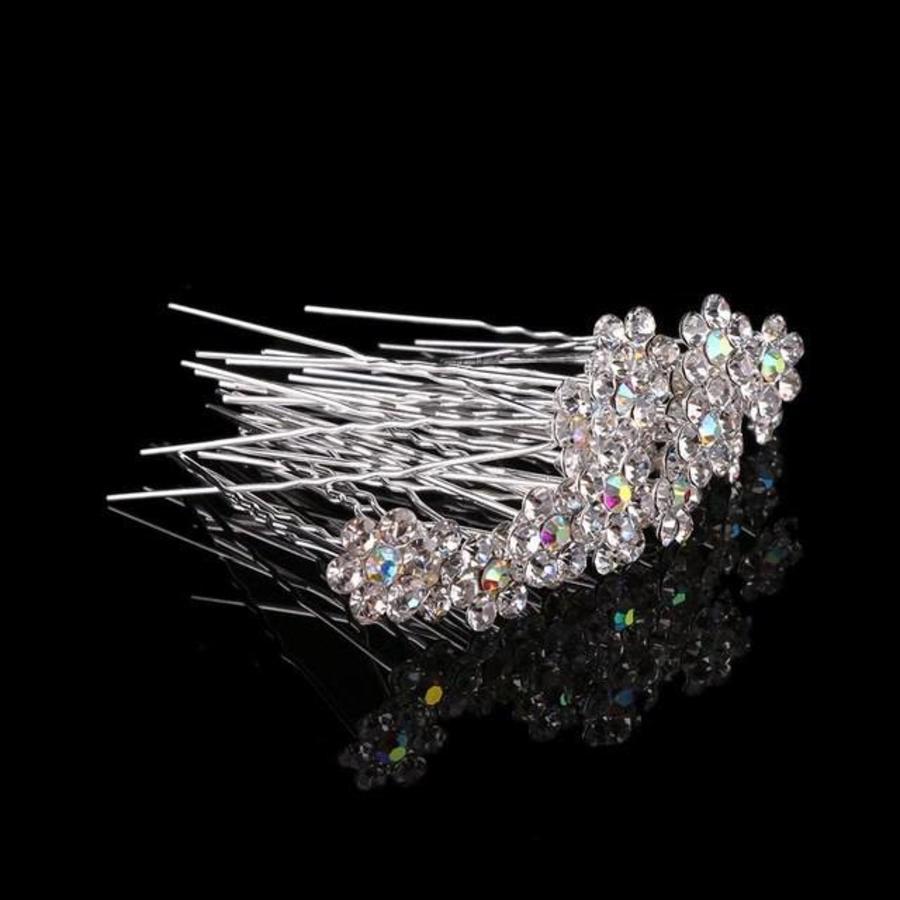 Hairpins – Bloemetje met prachtige kleuren - 5 stuks-3