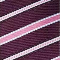 thumb-Elegante Stropdas Set in Geschenkdoos - inclusief Manchetknopen, Pochet en Dasspeld - K18- Roze / Paars-6