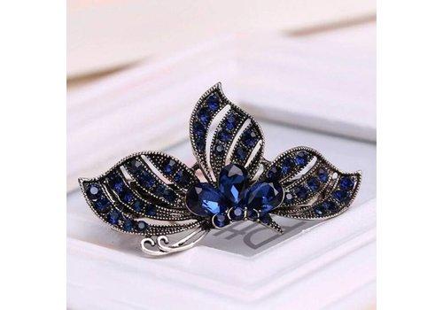 Stijlvolle Vlinder Haarclip - Blauw