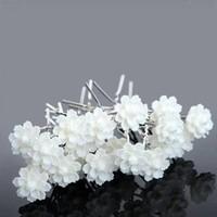 thumb-Hairpins – Chique Off White Bloemetje - 5 stuks-3