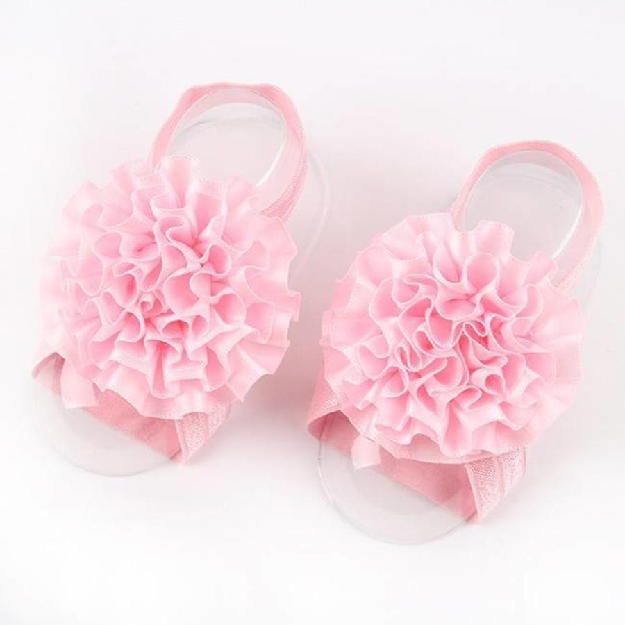 SALE - Baby sandaaltje - Zacht Roze-1
