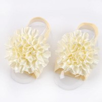 thumb-SALE - Baby sandaaltje - Off White-1