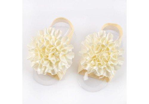 SALE - Baby sandaaltje - Off White