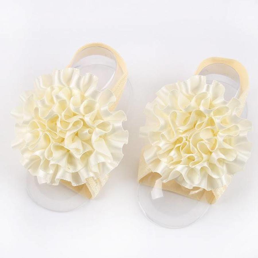 SALE - Baby sandaaltje - Off White-1