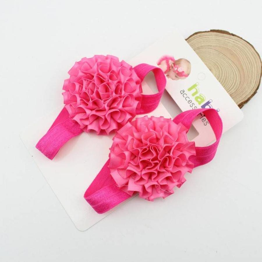 SALE - Baby sandaaltje - Roze-2