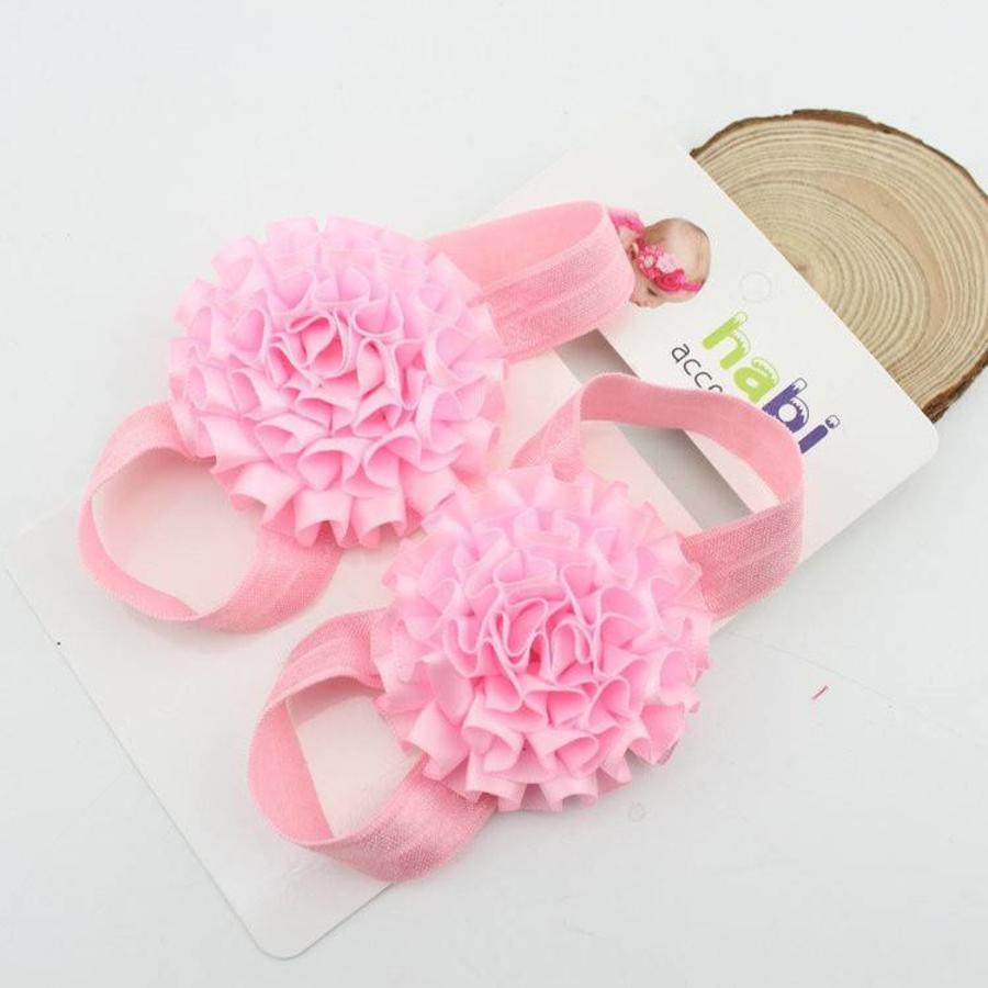 SALE - Baby sandaaltje - Zacht Roze-2