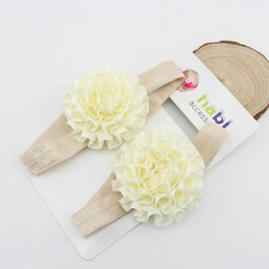 SALE - Baby sandaaltje - Off White-2
