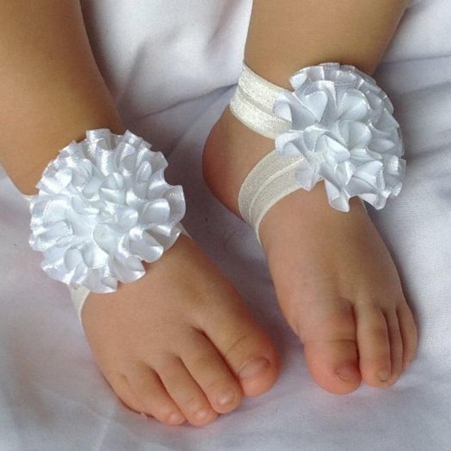 SALE - Baby sandaaltje - Off White-3