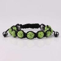 thumb-SALE - Sprankelende Armband - Groen - 2 STUKS-4