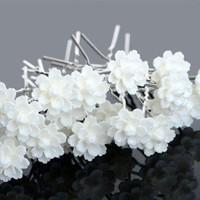 thumb-PaCaZa - Hairpins - Chique Off White Bloemetje - 5 stuks-6