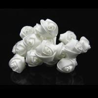 thumb-PaCaZa - Prachtige Witte Roosjes Curlies - 6 stuks-2