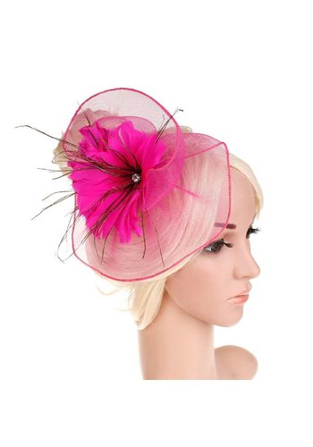 Moderne Fascinator / Haarband - Roze