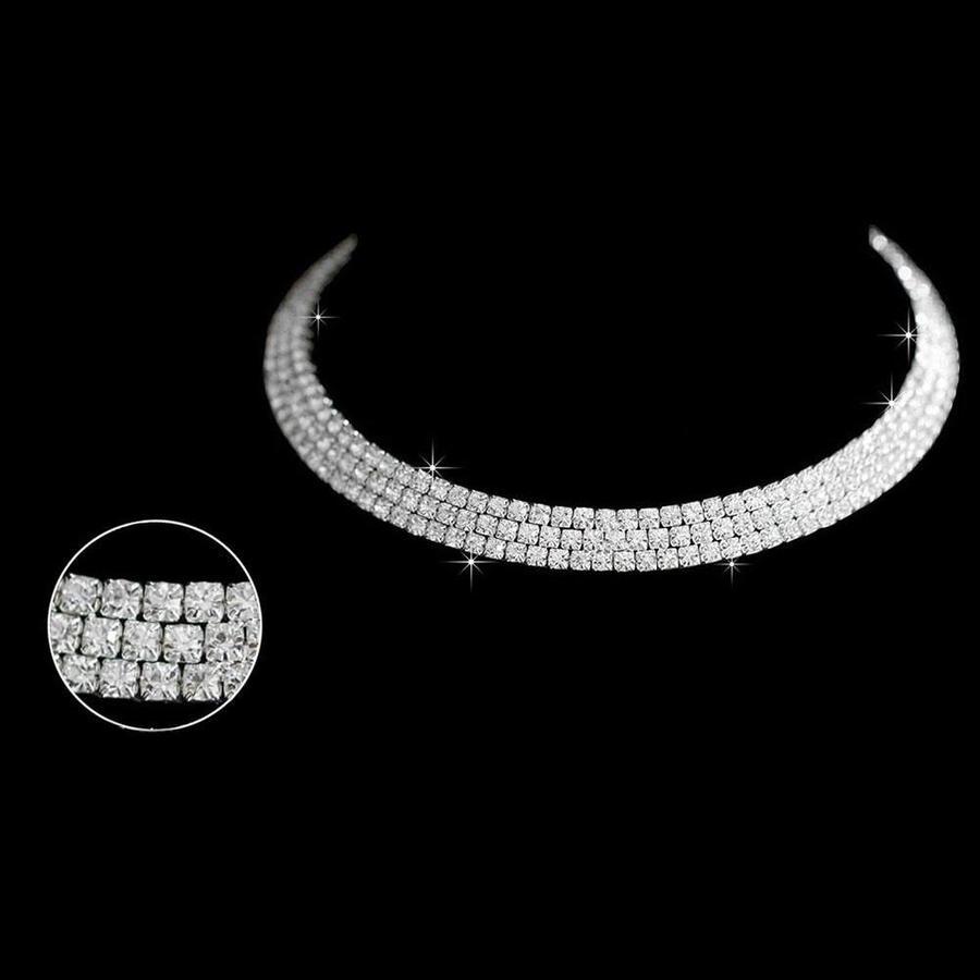 Sieraden Set Glamorous (Ketting & Oorbellen)-6