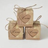 thumb-Geschenk doosjes / Cadeau doosjes - 50 stuks - Love-1