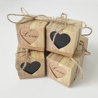 thumb-Geschenk doosjes / Cadeau doosjes - 50 stuks - Love-2