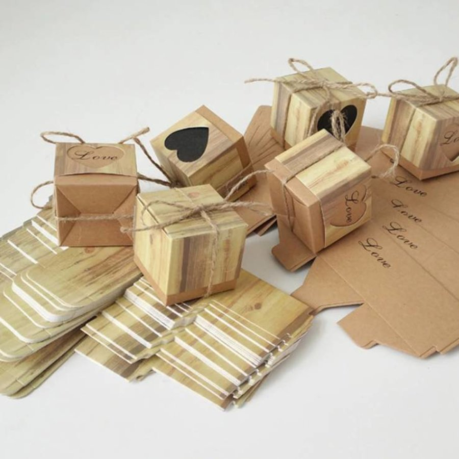 Geschenk doosjes / Cadeau doosjes - 50 stuks - Love-5