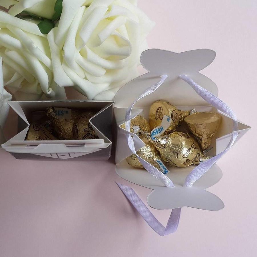 Cadeau doosjes / Geschenk doosjes - 50 stuks - Bruid & Bruidegom-2