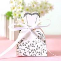 thumb-Cadeau doosjes / Geschenk doosjes - 50 stuks - Bruid & Bruidegom-4