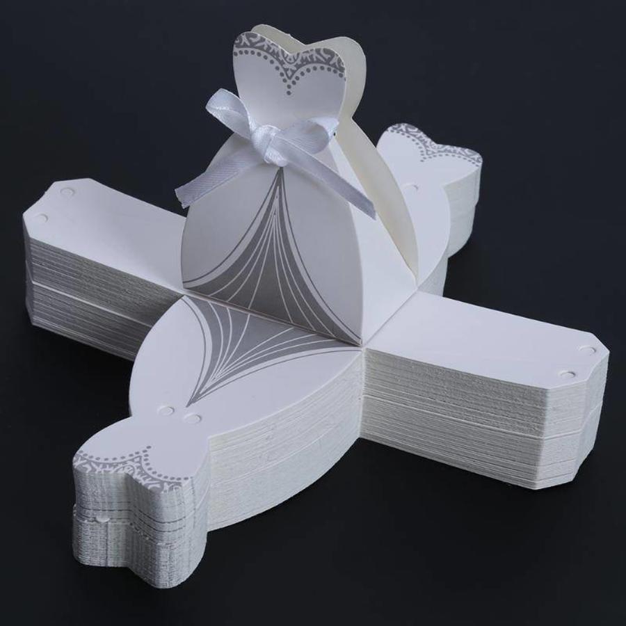 Geschenk doosjes / Cadeau doosjes - 50 stuks - Bruid & Bruidegom-7