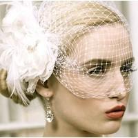 thumb-Prachtige Witte Bloem voor in je Haar-3