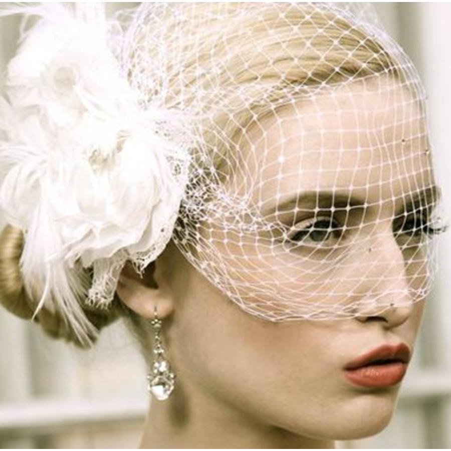 Prachtige Witte Bloem voor in je Haar-3