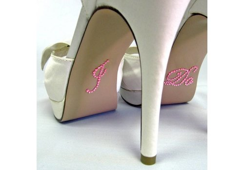 'I DO' Sticker - Roze