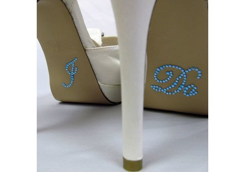'I DO' Sticker - Aqua Blauw