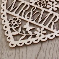 thumb-Houten Hart  - Mr & Mrs -  Decoratie - Bruiloft-4