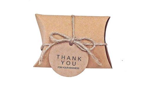 Geschenk doosjes / Cadeau doosjes - 50 stuks - DIY